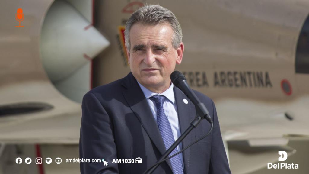 Agustín Rossi- Ministro- Del Plata