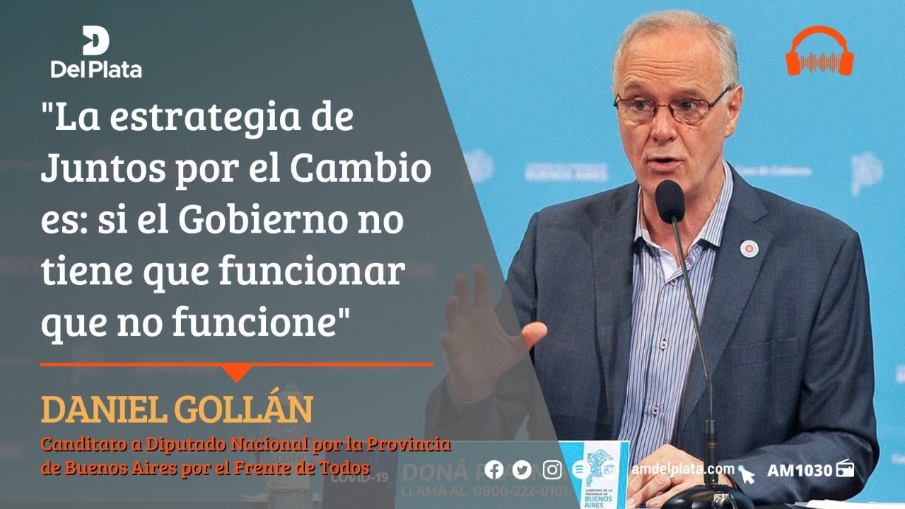Gollán - Lo Que Hay - Radio del Plata